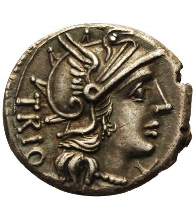 Rzym Republika. AR Denar Cn. Lucretius Trio 136 r. p.n.e.