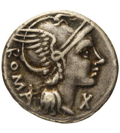 Rzym Republika. AR Denar L. Flaminius Chilo 109-108 r. p.n.e.