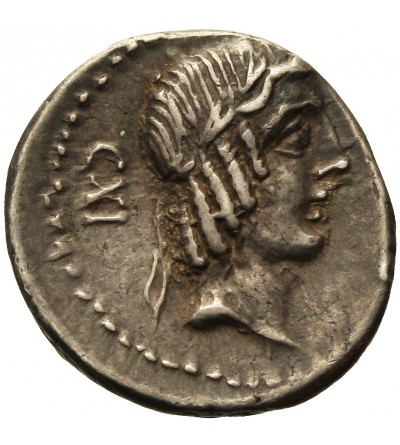 The Roman Republic. AR Denarius L. Calpurnius Piso Frugi 90 BC