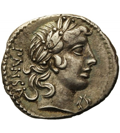 Rzym Republika. AR Denar C. Vibius C.f. Pansa 90 r. p.n.e.