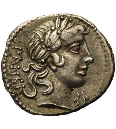 The Roman Republic. AR Denarius C. Vibius C.f. Pansa 90 BC