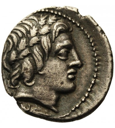 The Roman Republic. AR Denarius Anonymos ca 86 BC