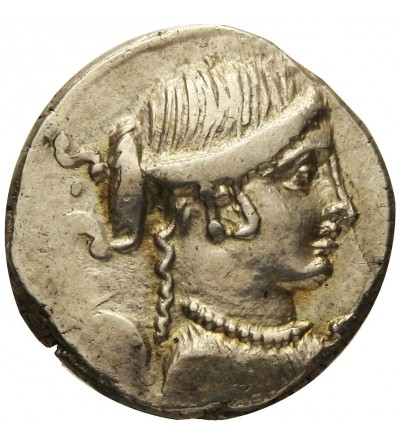 The Roman Republic. AR Denarius T. Carisius 46 BC