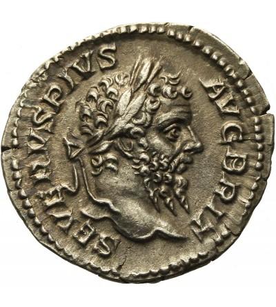 Septymiusz Sewer 193-211. AR Denar 210 r. n.e.