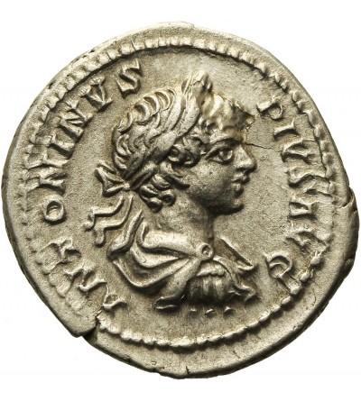 Caracalla 198-217. AR Denarius, 202 AD