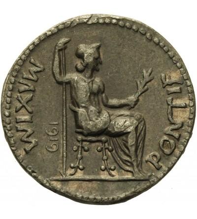 Tyberiusz 14-37. AR Denar - kopia 1919 rok
