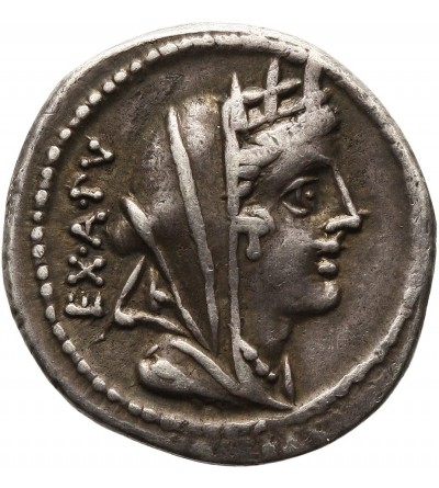 Rzym Republika. AR Denar C. Fabius Hadrianus, 102 r. p.n.e.