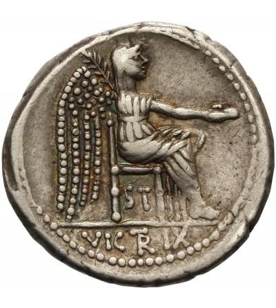 Rzym Republika. AR Denar M. Porcius Cato 89 r. p.n.e.