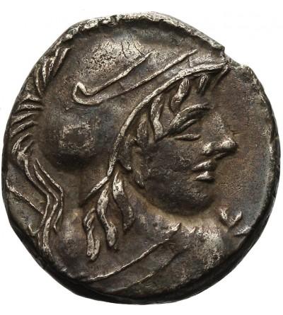 The Roman Republic. AR Denarius Cn. Cornelius Lentulus Clodianus 88 BC