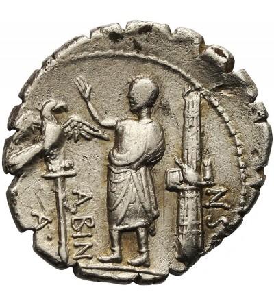 Rzym Republika. AR Denar A. Postumius Albinus 81 r. p.n.e.
