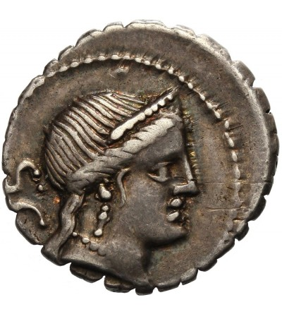 Rzym Republika. AR Denar C. Naevius Balbus 79 r. p.n.e.