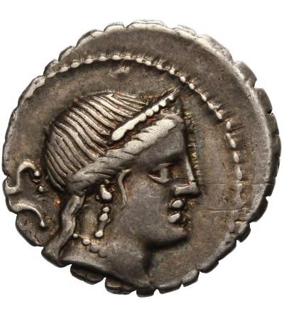 The Roman Republic. AR Denarius C. Naevius Balbus 79 BC