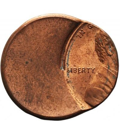 USA 1 Cent Mint Error 65 %