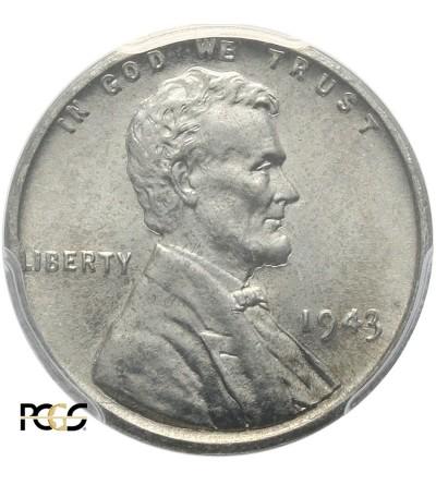 USA 1 cent 1943 - PCGS MS 64