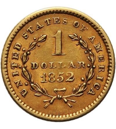 USA 1 dolar 1852, Liberty Head