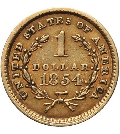 USA 1 dolar 1854, Liberty Head