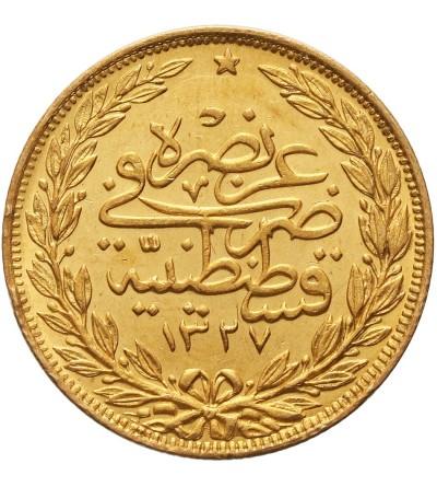 Turcja 100 Kurush 1327 / 3 AH / 1911 AD