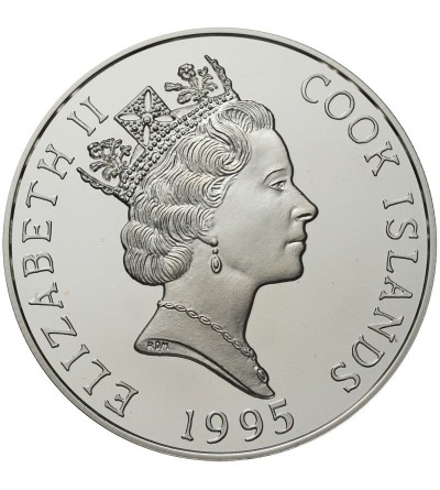 Wyspa Cooka 20 dolarów 1995 - Katamaran Tainui