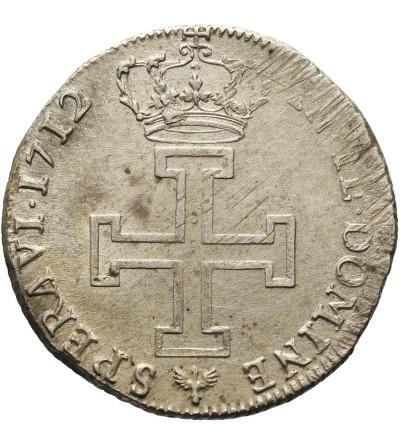 Francja. Teston 1712 Lotaryngia