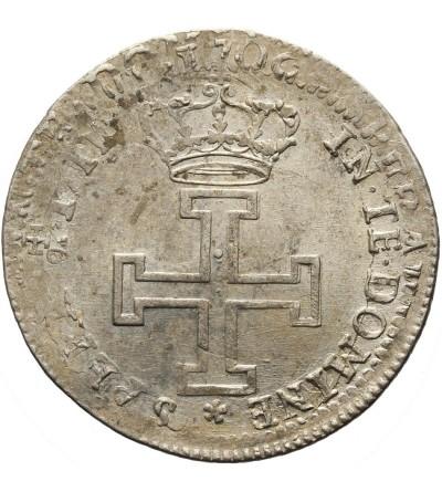 Francja. Teston 1711 / 1706 Lotaryngia