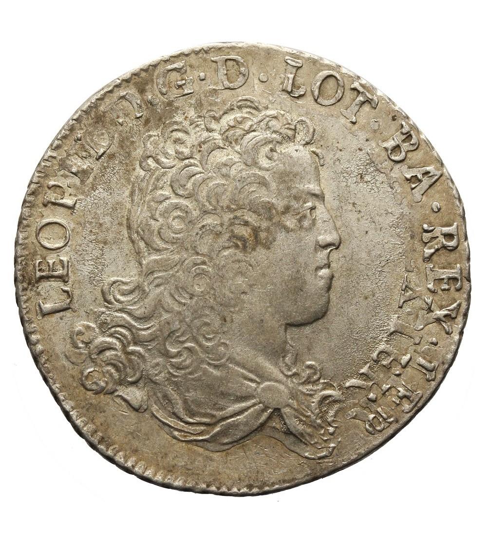 Francja. Teston 1711 Lotaryngia