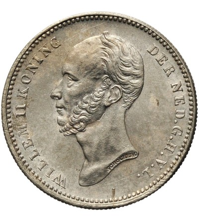 Netherlands 25 Cents 1849