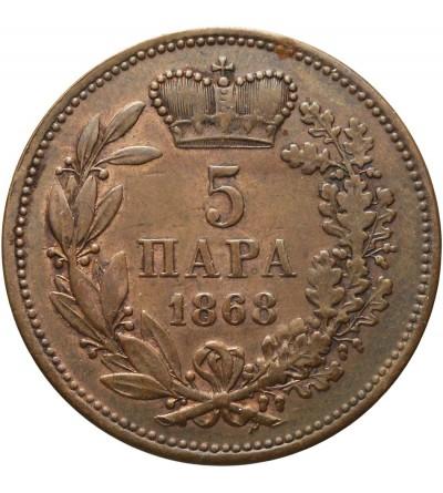 Serbia 5 para 1868