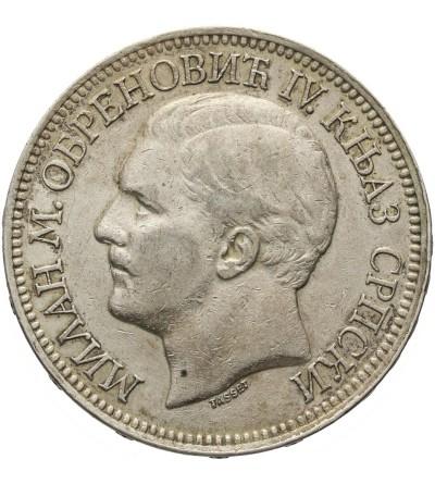 Serbia 5 dinarów 1879