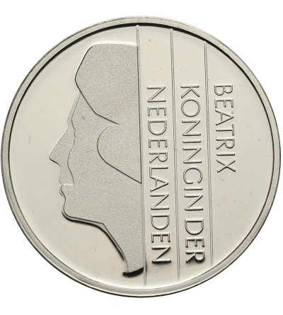 Holandia 1 gulden 2001 - srebro