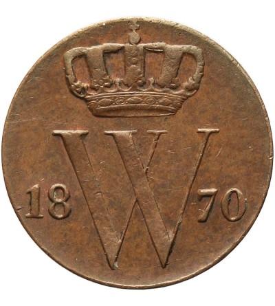 Holandia 1/2 centa 1870