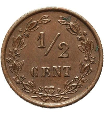 Holandia 1/2 centa 1885