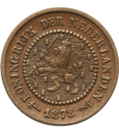 Holandia 1/2 centa 1878