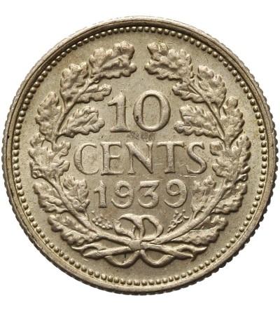 Holandia 10 centów 1939