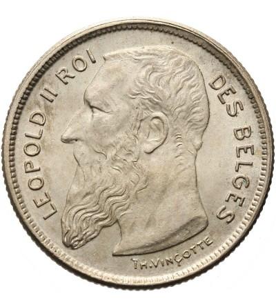 Belgia 2 franki 1909, DES BELGES