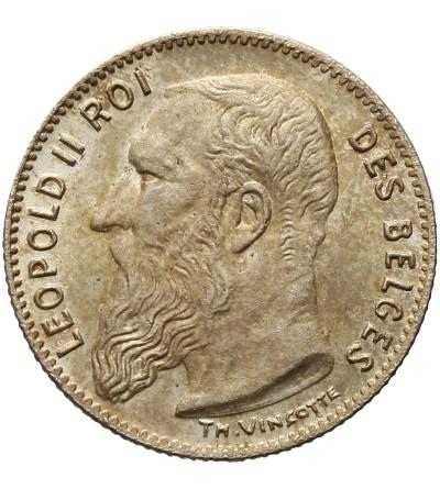 Belgia 50 centimes 1909, DES BELGES