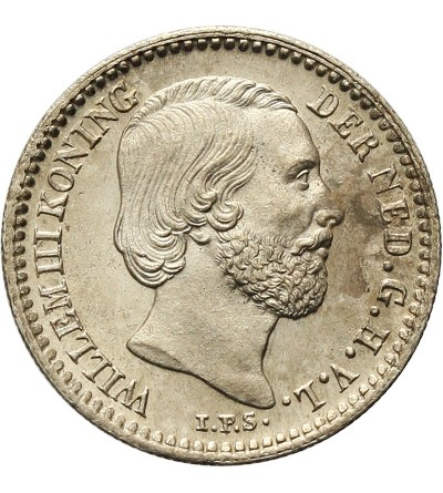 Netherlands 10 Cents 1889