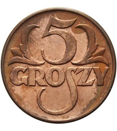 5 groszy 1938, Warszawa
