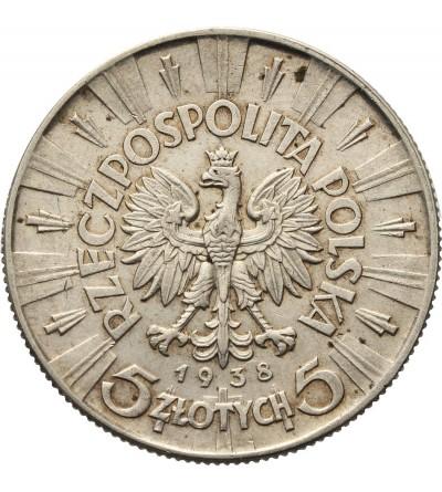 Poland 5 zlotych 1938, Jozef Pilsudski