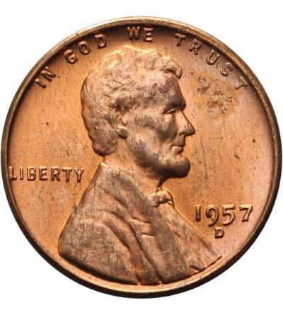 USA 1 cent 1957 D