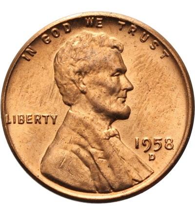 USA 1 cent 1958 D