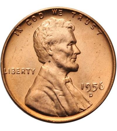 USA 1 cent 1956 D