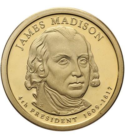 USA 1 dolar 2007 S, James Madison - Proof