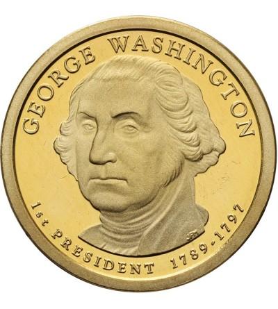 USA 1 dolar 2007 S, George Washington - Proof
