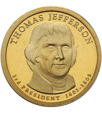USA Dollar 2007 S, T. Jefferson - Proof