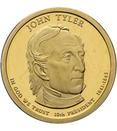 USA 1 dolar 2009 S, John Tyler - Proof
