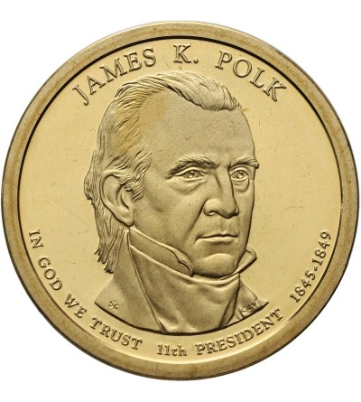 USA 1 dolar 2009 S, James K. Polk - Proof