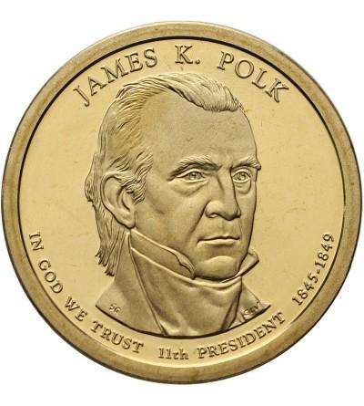 USA 1 dolar 2009 S, James K. Polk - Proof