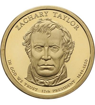 USA 1 dolar 2009 S, Z. Taylor - Proof