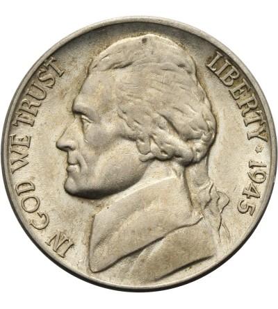 USA 5 centów 1945 D