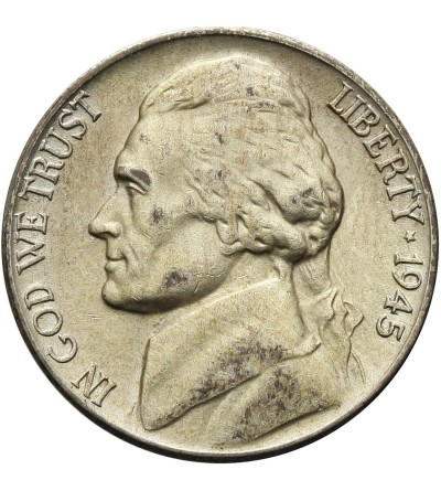 USA 5 Cents 1945 P